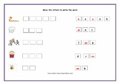 Interactive worksheet Vowel teams