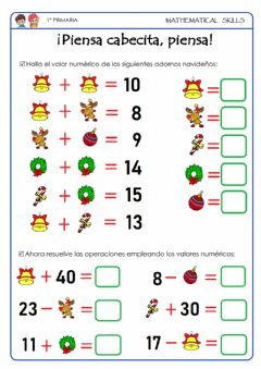 Interactive worksheet Valor numérico