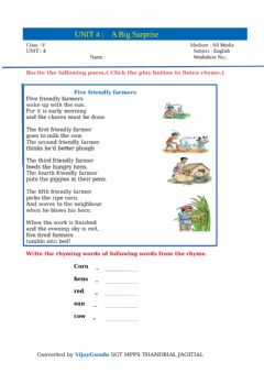 Interactive worksheet 5th bigsurprise B reading 1 by Vijay Gundu