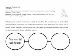 Interactive worksheet Text Mapping - Sequencing 1