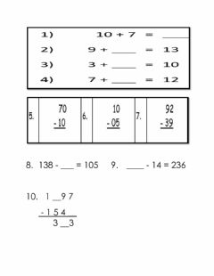 Ficha interactiva Addition and Subtraction Practice