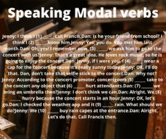 Ficha interactiva Speaking Modal Verbs