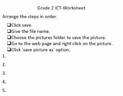Interactive worksheet Ict worksheet