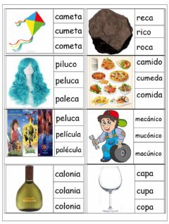 Interactive worksheet Palabras ca, co, cu