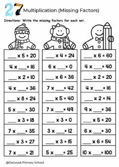 Interactive worksheet Grade3-Maths-lesson27