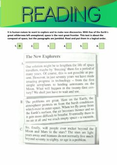 Interactive worksheet Reading exercise