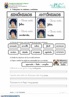 Interactive worksheet Cuadernillo PLC 1 - PÁGINA 4