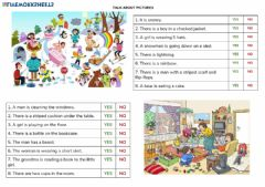 Interactive worksheet Reading activity