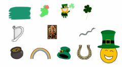 Interactive worksheet Saint Patrick's Day vocabulary