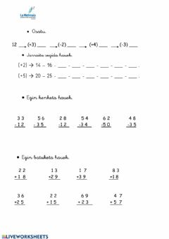 Interactive worksheet 1mate U8.1eusk