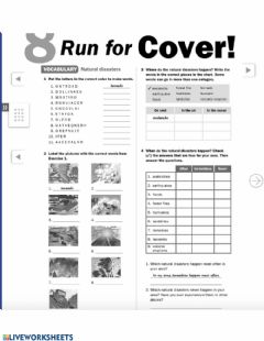 Interactive worksheet Uncover 3 WB p. 50