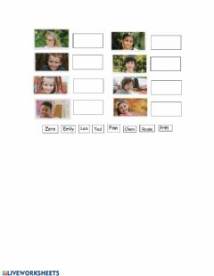 Interactive worksheet Bright Ideas 2 - Characters