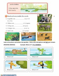 Interactive worksheet Activity 1. Writing and Speaking