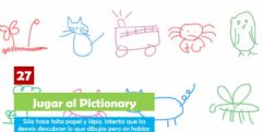 Interactive worksheet Pictionary