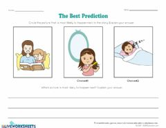 Interactive worksheet Prediction