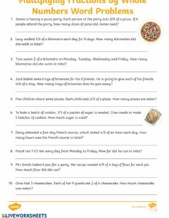 Interactive worksheet 20-03-2020 - Math - Spicy