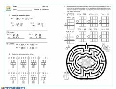Interactive worksheet Quiz matematicas