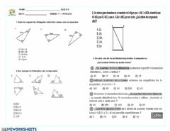 Interactive worksheet Quiz matematicas 7