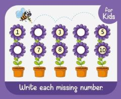 Interactive worksheet Counting