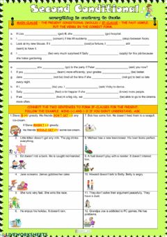 Interactive worksheet Second conditional