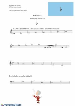 Interactive worksheet Snizilice