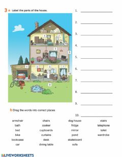 Interactive worksheet Project 3 - Unit 3 - Revision - exercise 3