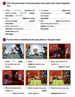 Interactive worksheet Past perfect new round up 4- 3