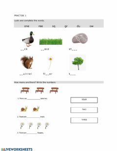 Interactive worksheet Review- Living things-Non-Living things