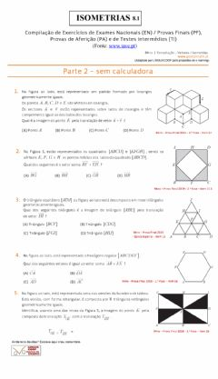 Interactive worksheet Isometrias  8.1