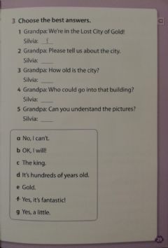 Interactive worksheet The Lost City Chapter 1 p.29