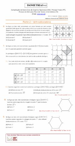 Interactive worksheet Isometrias  8.2
