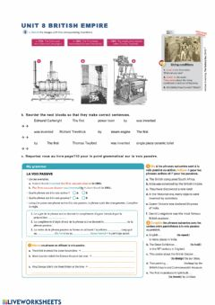 Ficha interactiva British empire page 4