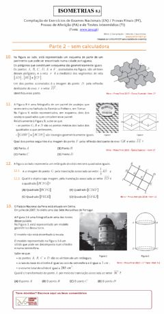 Interactive worksheet Isometrias 8.3