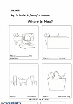 Interactive worksheet Where is max?