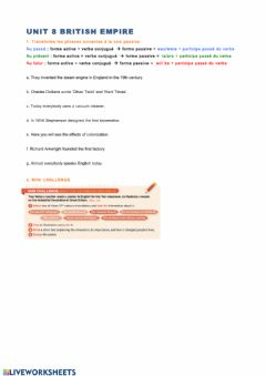 Ficha interactiva British empire page 5