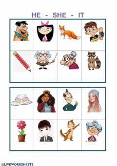Interactive worksheet Some pronouns