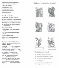 Interactive worksheet Revision vocabulary unit 1 wu2 2