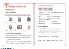 Interactive worksheet What Is a City?