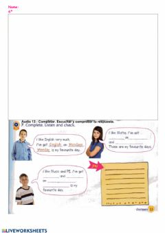 Interactive worksheet I like Science (04)