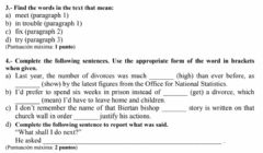 Interactive worksheet EvAU marriage
