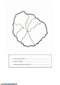 Interactive worksheet La Gomera