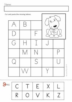 Ficha interactiva Alphabet: Fill in the blank