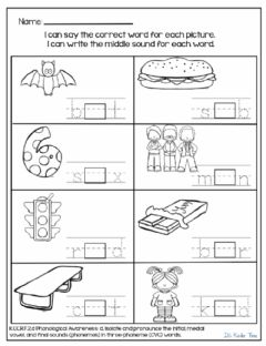 Interactive worksheet Who's in the Middle?