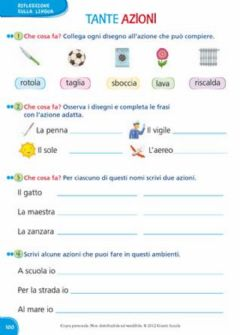 Interactive worksheet Le azioni