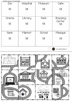Interactive worksheet City Mix Up Puzzle