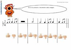 Interactive worksheet Compases simples