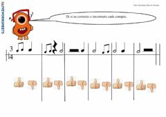 Interactive worksheet Compases simples III