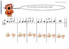 Interactive worksheet Compases simples V