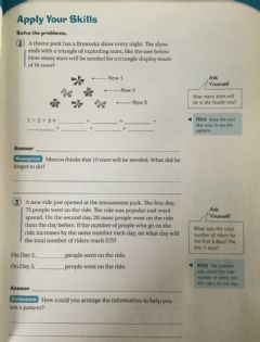 Interactive worksheet Look for Patterns problem solving 4