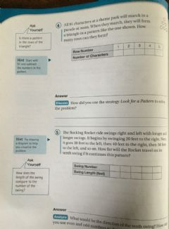 Interactive worksheet Look for Patterns problem solving 5